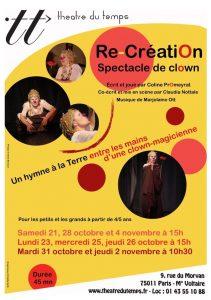 Affiche Re-Création th du tps oct 17